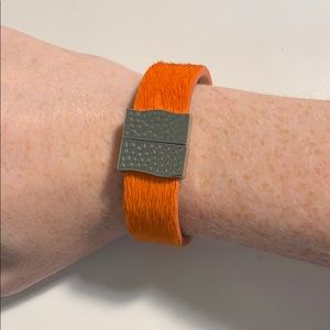 Rustic Cuff Haley Bracelet with magnetic clasp